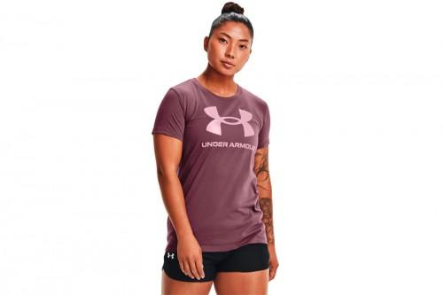 Camiseta Under Armour Live Sportstyle Morado
