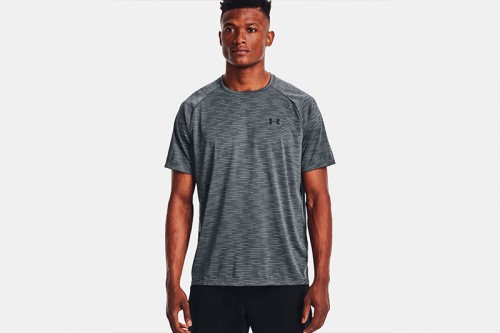 Camiseta Under Armour Tech 2.0 Dash gris