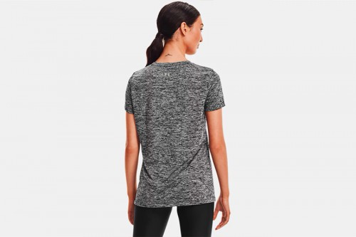 Camiseta Under Armour Tech SSC - Twist gris