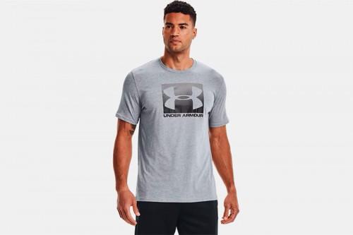 Camiseta Under Armour UA BOXED SPORTSTYLE gris