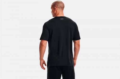 Camiseta Under Armour UA BOXED SPORTSTYLE negra