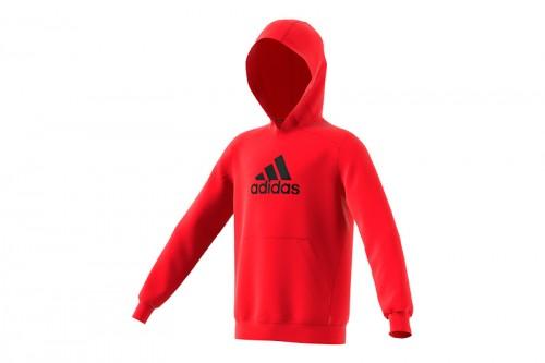 Sudadera adidas Badge of Sport Roja