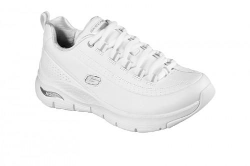 Zapatillas Skechers ARCH FIT - CITI DRIVE Blancas