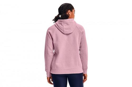 Sudadera Under Armour Rival Fleece Logo rosa