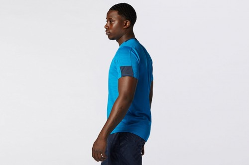 Camiseta New Balance Fast Flight Short Sleeve azul