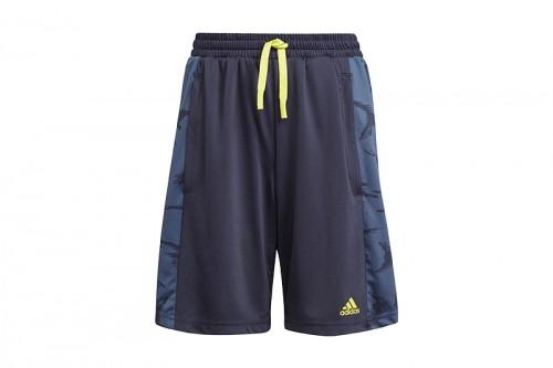Pantalón adidas B CAMO azul