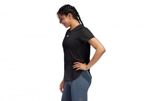 Camiseta adidas AEROREADY LEVEL 3 negra