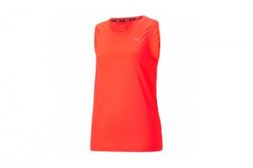 Camiseta Puma RUN FAVORITE TANK W Naranjas