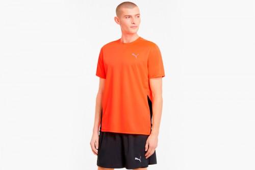 Camiseta Puma Run Favourite Naranjas