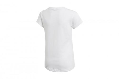 Camiseta adidas YG MH BOS TEE blanca