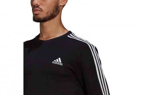 Sudadera adidas ESSENTIALS SWEATSHIRT negra