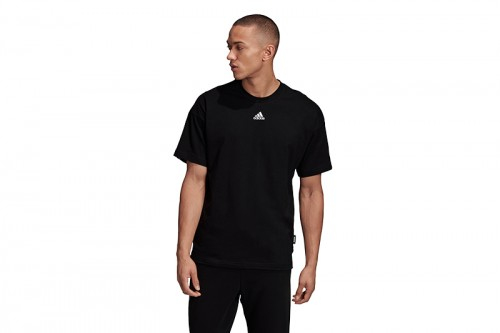 Camiseta adidas Must Have 3 Stripes Tee Negras