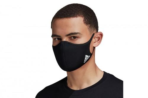 Mascarillas adidas FACE CVR M/L Negras