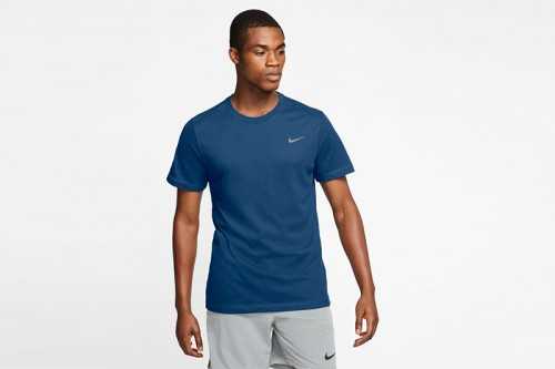 Camiseta Nike Dri-FIT azul