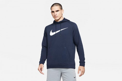 Sudadera Nike Dri-FIT azul