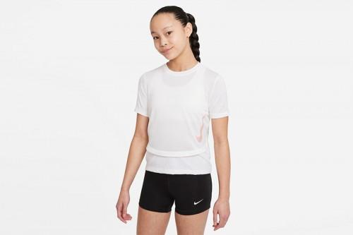 Camiseta Nike Breathe Instacool Blancas