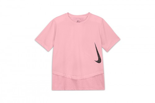Camiseta Nike Breathe Instacool Rosa