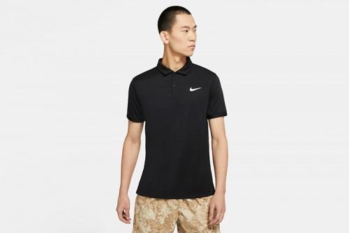 Camiseta Nike Court Dri-FIT Victory Negra