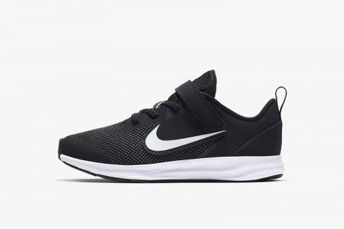 Zapatillas Nike Downshifter 9 Little Kids' Sho Negras
