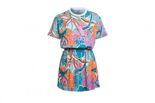 Vestido adidas G Dance Dress Multicolor