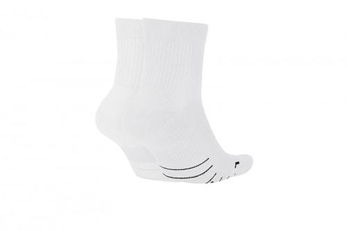 Calcetines Nike Multiplier Running Ankle Socks blancos