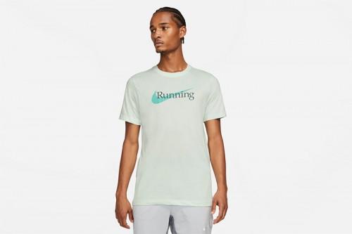 Camiseta Nike Dri-FIT verde