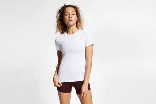 Camiseta Nike Pro Blanca
