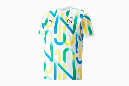 Camiseta Puma NEYMAR JR Multicolor
