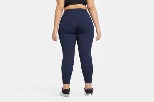 Mallas Nike One Azules