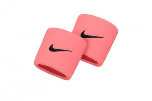 Muñequera Nike SWOOSH WRISTBANDS Rosa