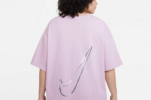 Vestido Nike Sportswear Swoosh Rosa