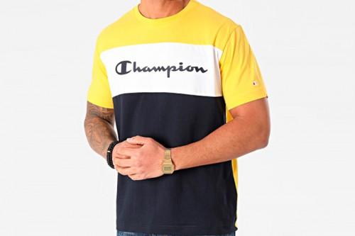 Camiseta Champion Crewneck Amarilla