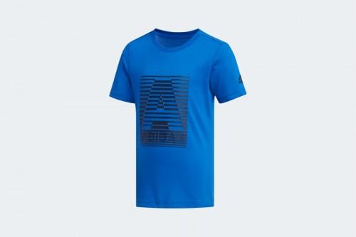 Camiseta adidas COTTON Azul