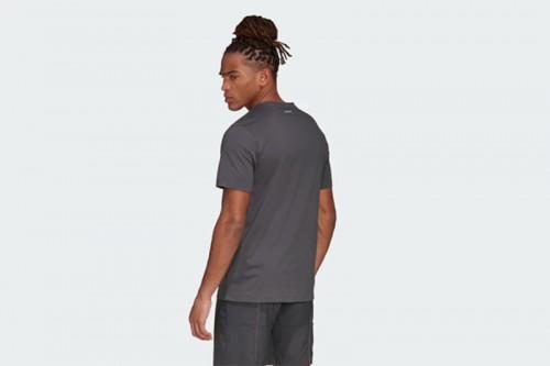 Camiseta adidas LOGO TEE Gris