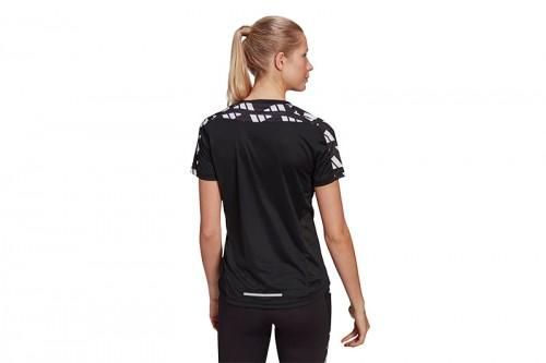 Camiseta adidas OWN THE RUN CELEBRATION Negra