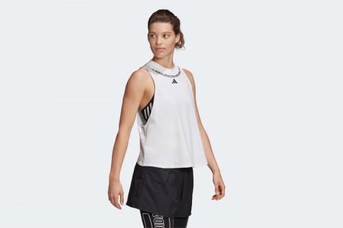 Camiseta adidas SLEEVELESS GRAPHIC Blanca