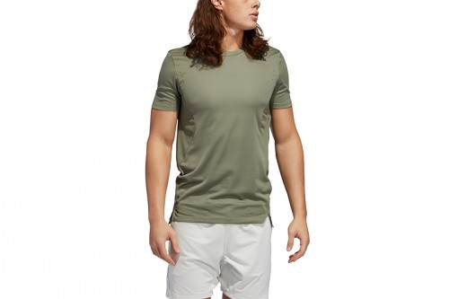 Camiseta adidas TRAINING TEE HEAT.RDY Verde