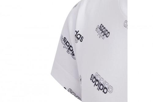 Camiseta adidas Young Girls Favorites Blanca