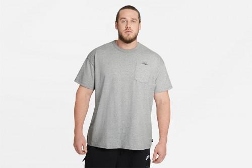 Camiseta Nike Sportswear Club Gris