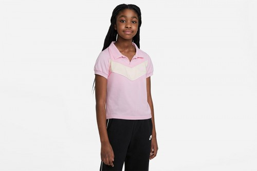 Camiseta Nike Sportswear Heritage Rosa