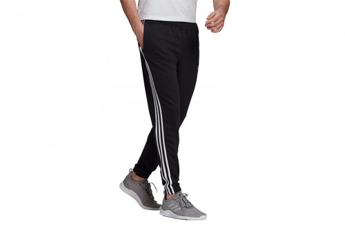 Pantalón adidas ESSENTIALS FRENCH TERRY TAPERED Negro