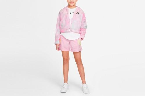 Pantalón Nike Sportswear Heritage Rosa
