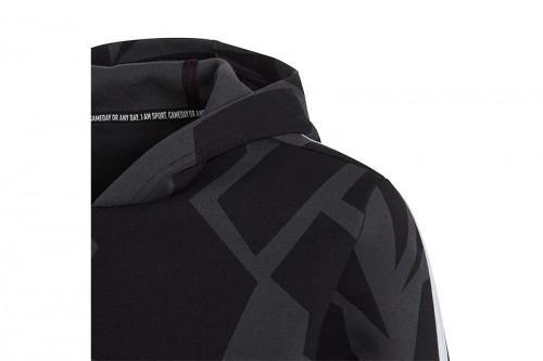 Sudadera adidas B FI 3S GRA HD Negra