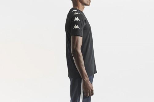 Camiseta Kappa KLAKE negra