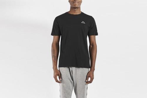 Camiseta Kappa ITAP negra