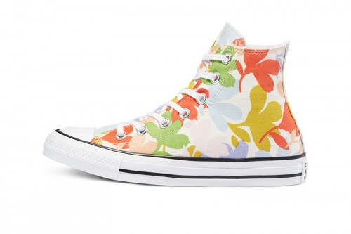 Zapatillas Converse Converse Floral Print Chuck Taylor All Star High Top Blancas