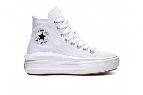 Zapatillas Converse CTAS MOVE HI WHITE/NATURAL IVORY/BLACK Blancas