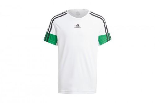 Camiseta adidas B A.R. 3S blanca