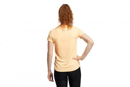 Camiseta adidas BADGE OF SPORT amarilla