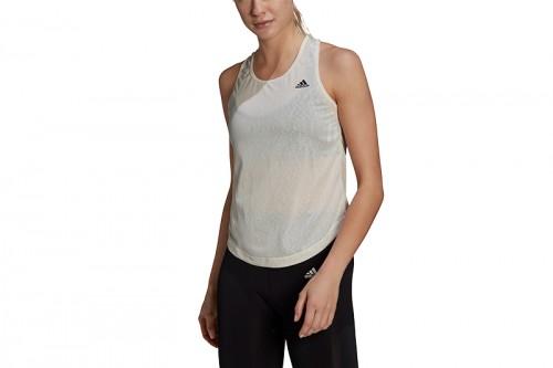 Camiseta adidas DESIGNED TO MOVE DANCE TANK TOP Blanca
